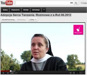 wywiad z s. Rut z Tanzanii - czerwiec 2012