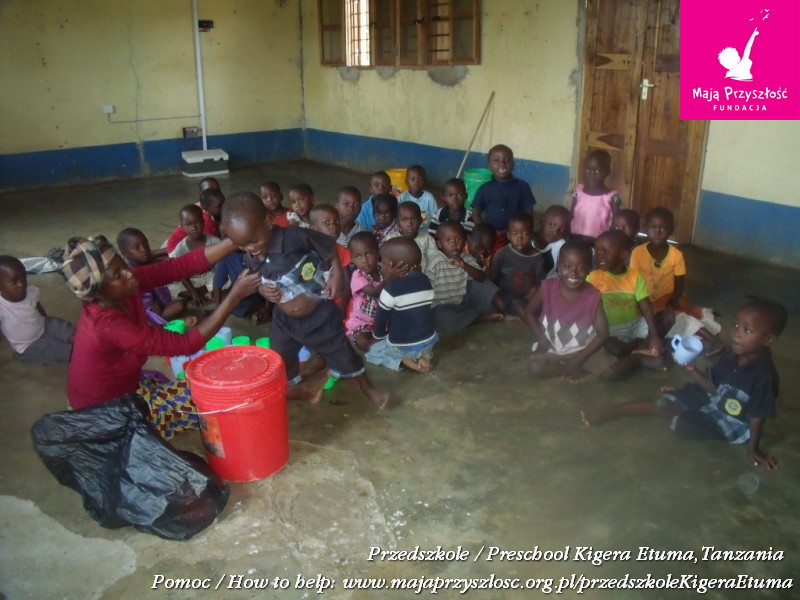 Children at Kigera Etuma Pre-school