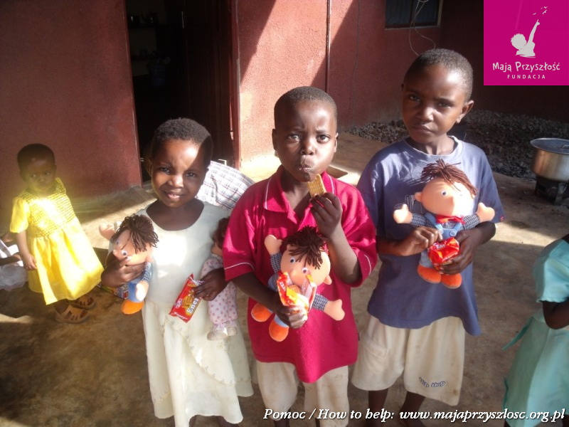 paczki / parcels Tanzania