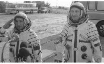 2h przez odlotem statku kosmicznego SOJUZ30 foto. PAP Tadeusz Zagoździński