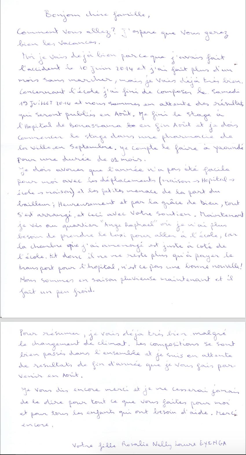 list podopiecznego 1b