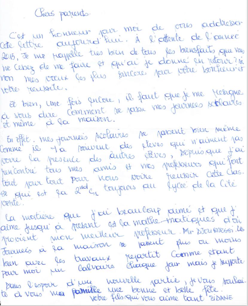 list podopiecznego 2a