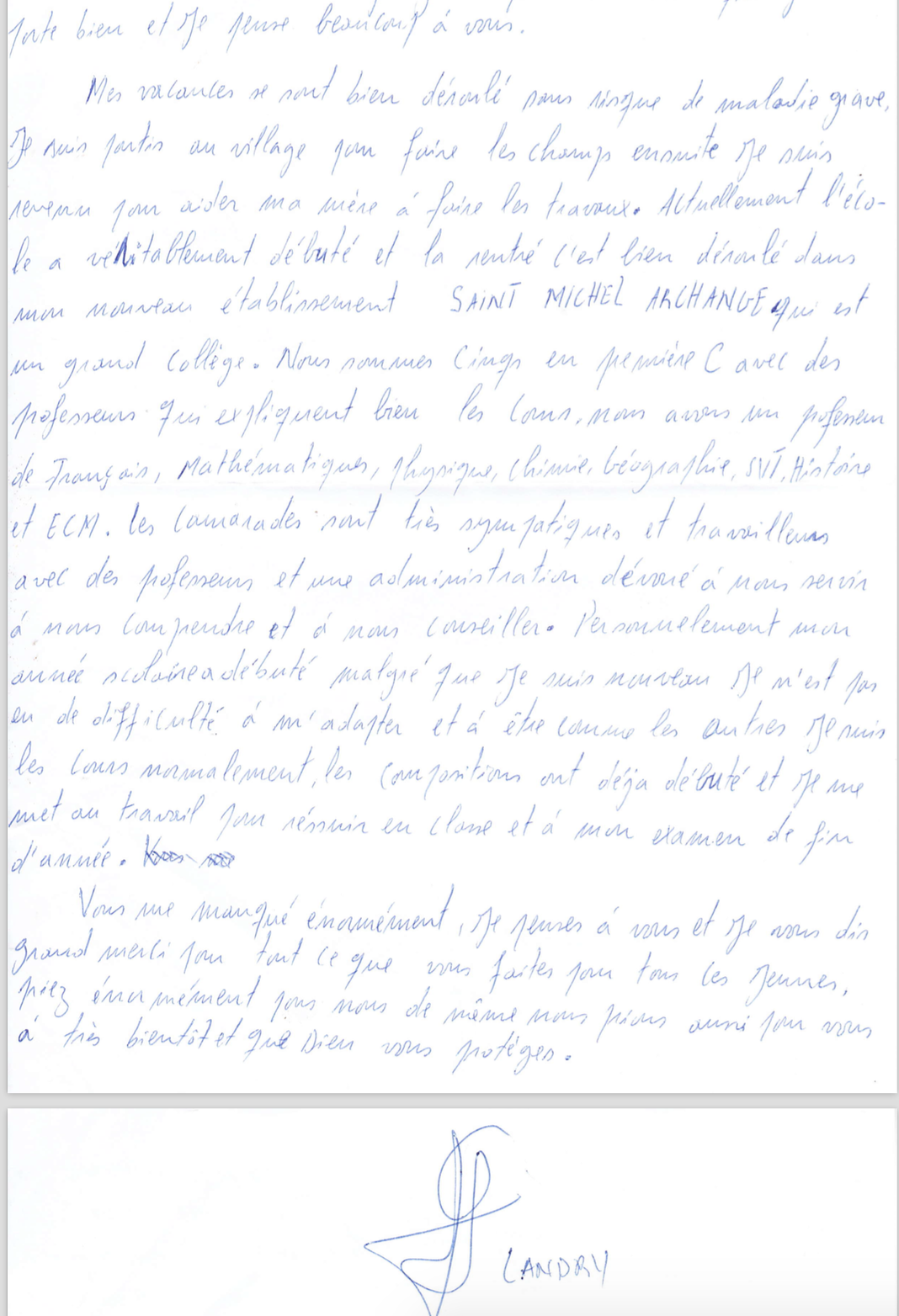 list podopiecznego 4a