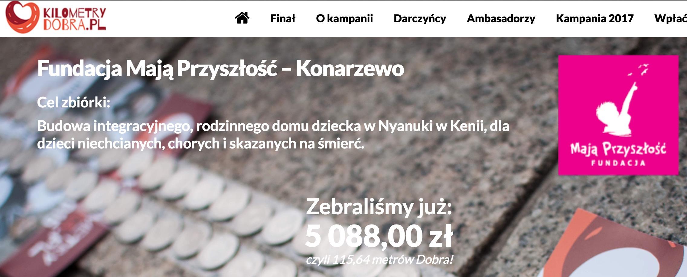 Finał kampanii Kilometry Dobra-zrzut obrazu