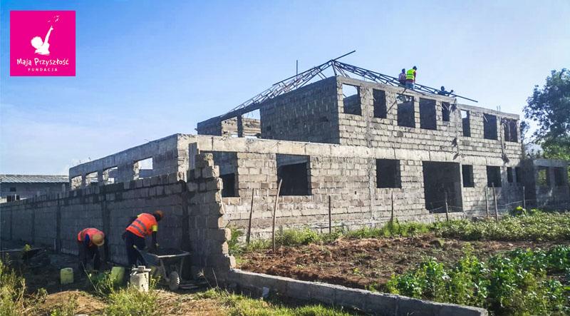 Stan budowy - początek października 2019